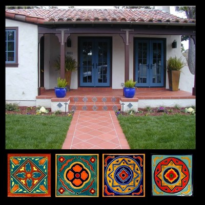entrey tiles 6x6 risers