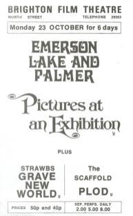 ELP Pubblicità Pictures at an Exhibition