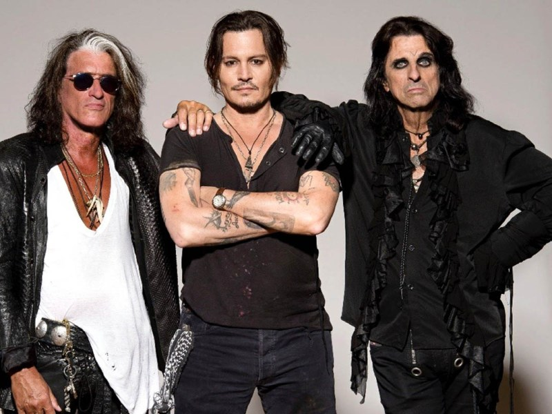 Hollywood Vampires, Rise, Johnny Depp, Joe Perry, Alice Cooper, Classic Rock, stonemusic.it
