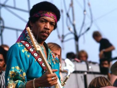 Jimi Hendrix, Steven Vosburgh, BB King, Les Paul, Jeff Beck, Classic Rock, stonemusic.it