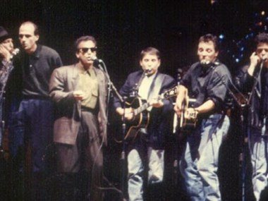 Ruben-Blades-James-Taylor-Paul-Simon-Bruce-Springsteen-Lou-Reed-1987.
