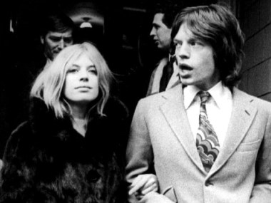 Marianne Faithfull e Mick Jagger