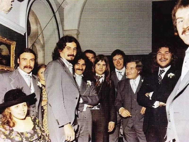 tony iommi e john bonham 1973