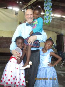 Pastor Bill and students from Cite Soleil