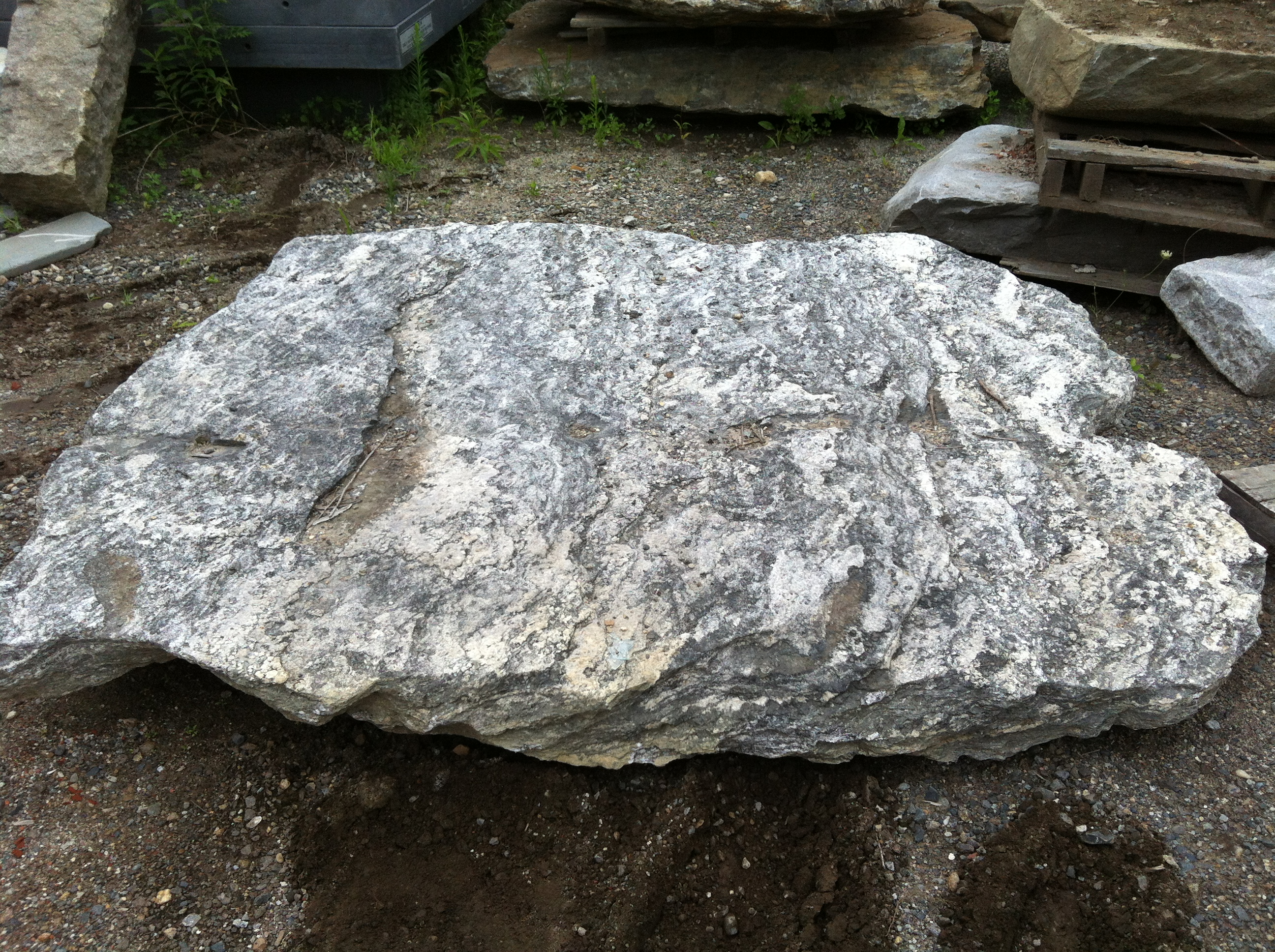 Granite Stone Foundation : New england fieldstone stone of