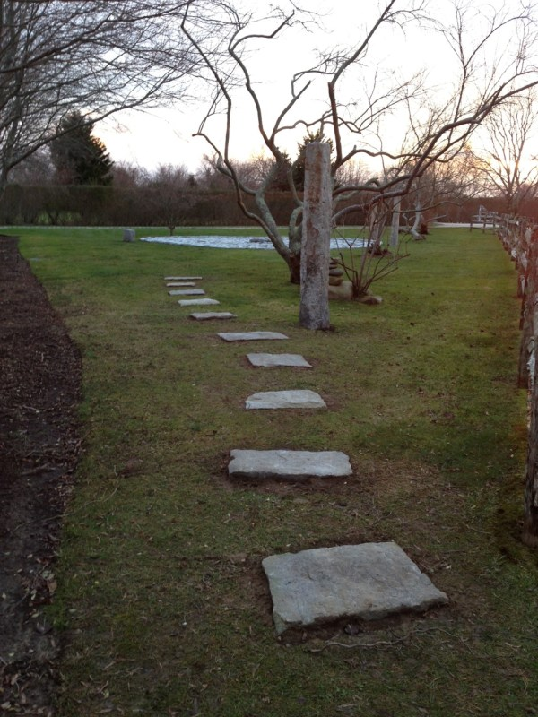 Stepping Stones Leading to Stone Circle