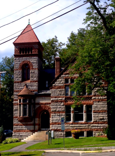 Warren Public Library- not my photo - unknown photographer
