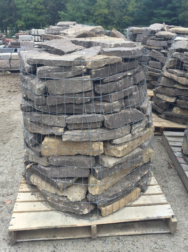 New England Fieldstone : Architectural salvage stone of new england