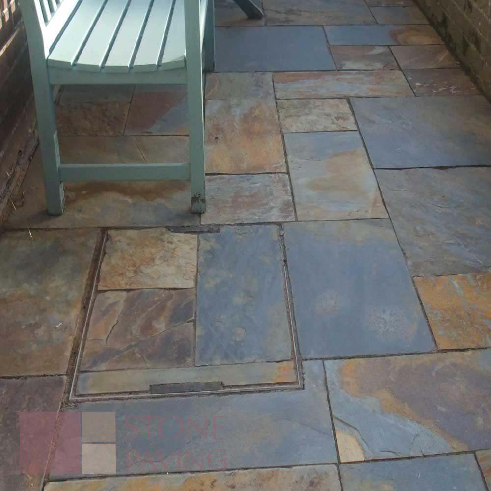 rustic slate stone paving supplies