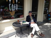 Gil Adams at Coffee Shop