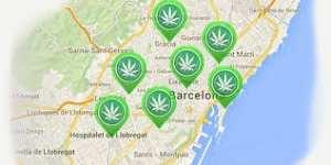 Barcelona Mapa cafetería