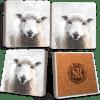 Sheep Marble Coaster Set