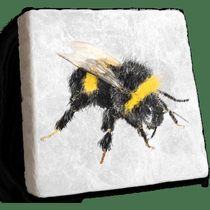 Bee Marble Coaster