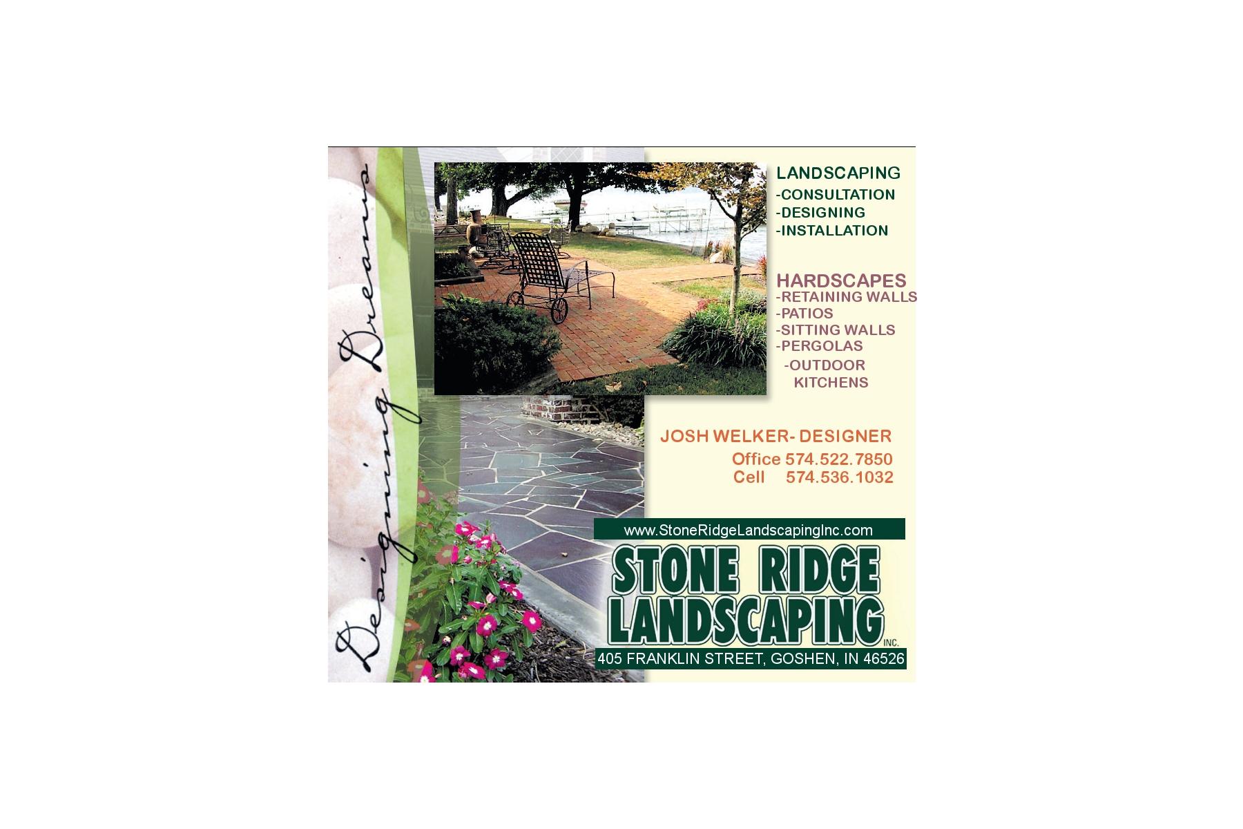Goshen's Premire Landscape Contractor