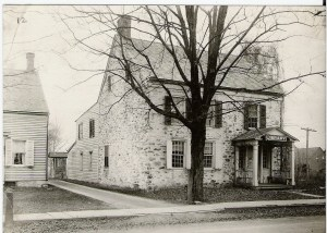 Stone Ridge Library, Exterior, 1912