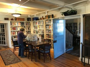 Stone Ridge Library, Reading Room