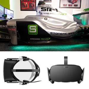 Formula One simulation 60 minutes Virtual Reality