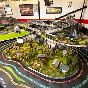 Rocky Road Experience Scalextric track