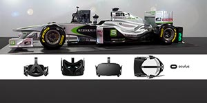 45 Minutes formula One simulation in Virtual Reality