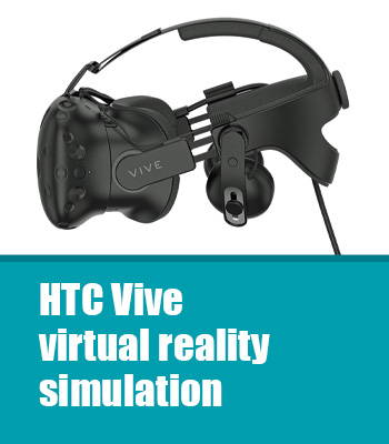 Touring car simulation in virtual reality