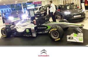 Formula One hire at Citroen