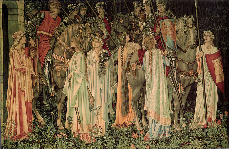Holy_Grail_Tapestry_-The_Arming_and_Departure_of_the_Kniights