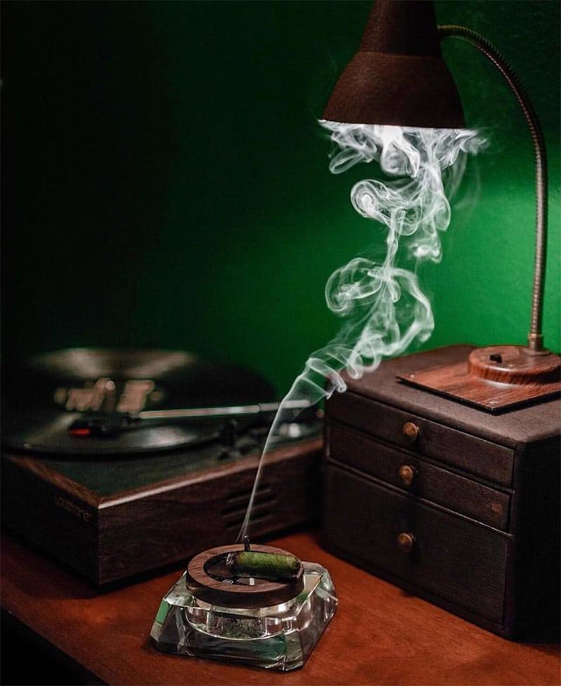bob marley natural ashtray