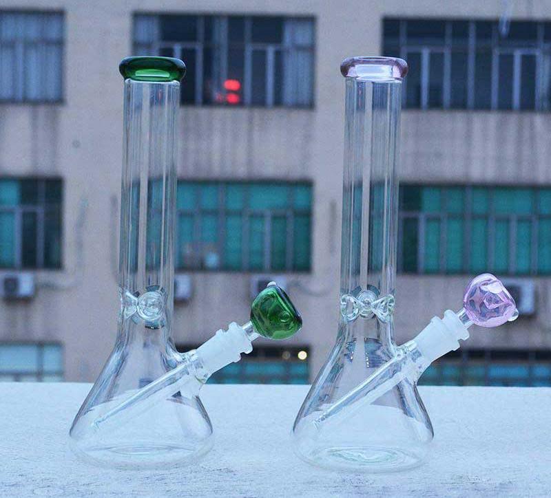 cheap thick glass bong