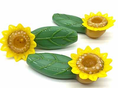 sunflower bowl pipe