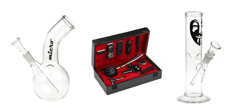 Mini Bongs: The 12 Best Small Glass Bongs Out there
