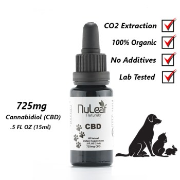 Nuleaf Naturals Full Spectrum CBD Oil For Pets