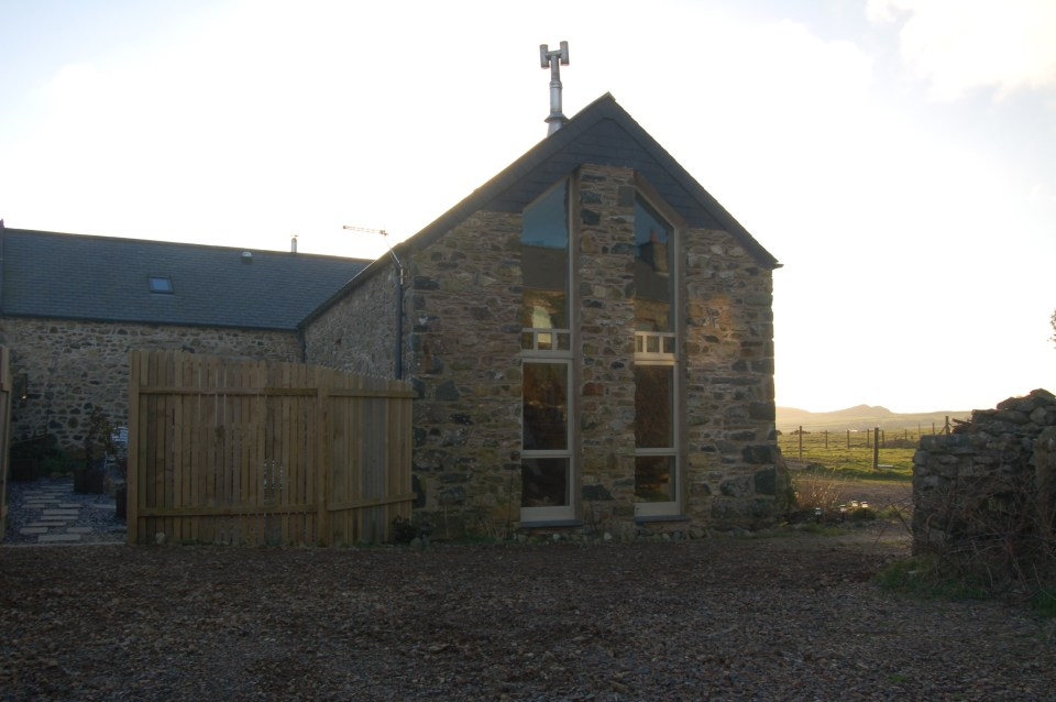 Harmony Barn at Stones Cottages a cosy eco holiday cottage