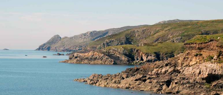 Views of Strumble Head near Stones Cottages, Pembrokeshire.