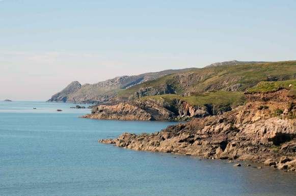 Views of Strumble Head near Stones Cottages, Pembrokeshire.