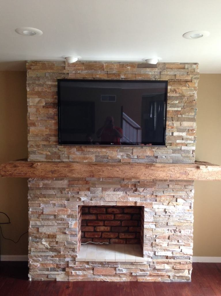 Stone Veneer Fireplace stone veneer fireplaces, walls, stone hearths - the stone shop
