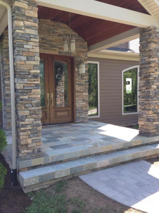 Quartzite Landing And Steps