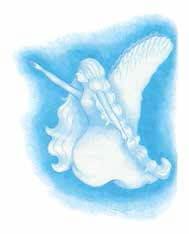 Grandma's Angels blue angel