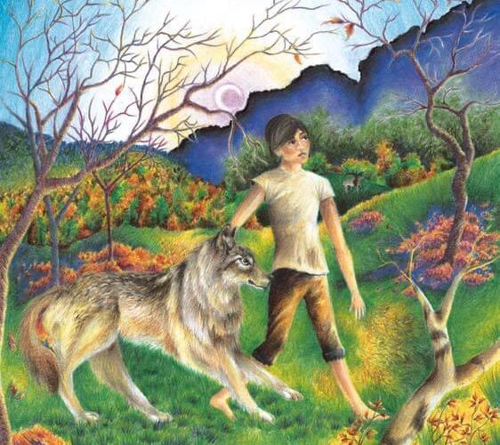 Flynn a boy and his dog