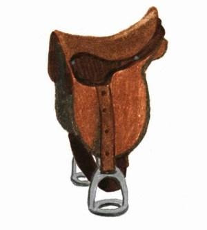 the flying angel horse saddle