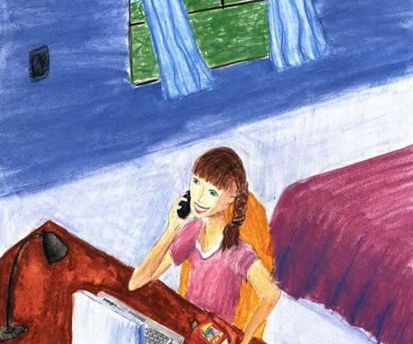 persistence girl phone call