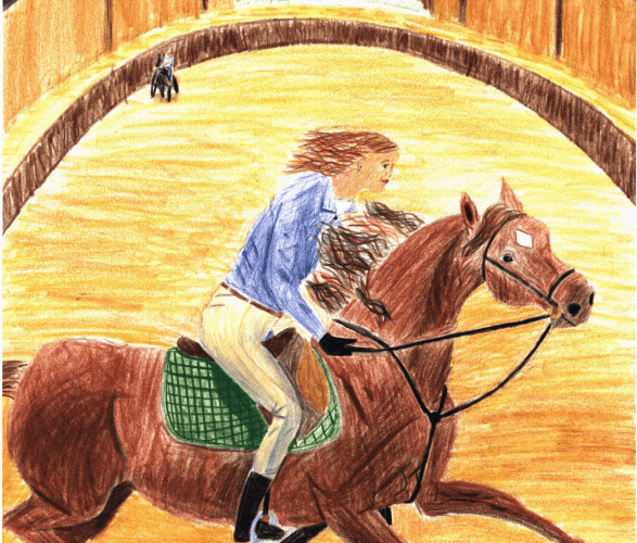 Rider's Paradise woman riding a horse