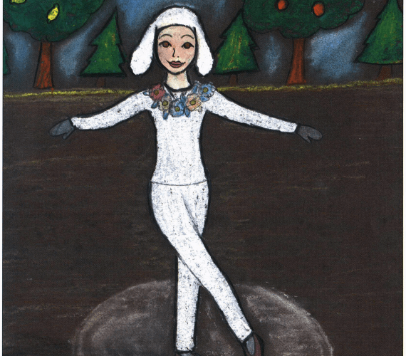 Nutcracker Dreams girl dancing ballet