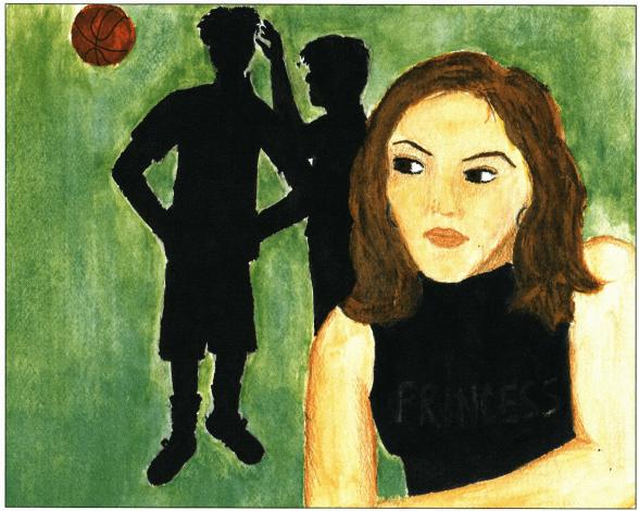 Basketball Season girl join the team