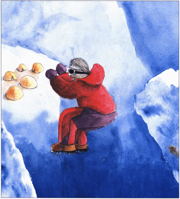 Himalayan Adventure climbing mountain