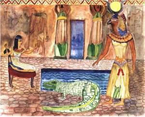 the pharaohs daughter egyptian gods