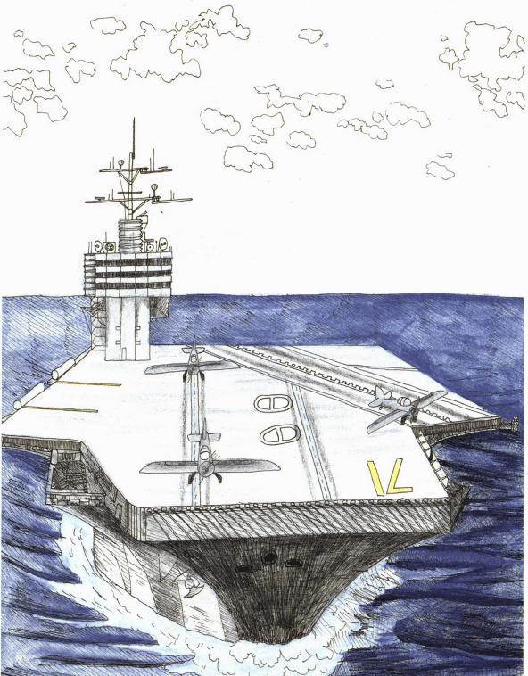 World War II Story aircraft carrier