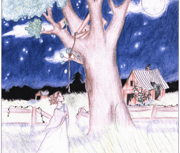 Seventeen Years under the tree at night
