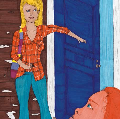 lcome Home entering the door