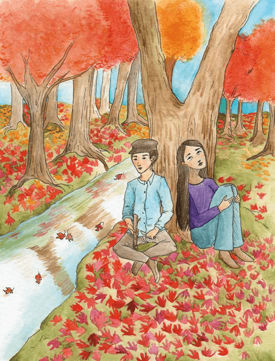 Maple and Marmalade by the river