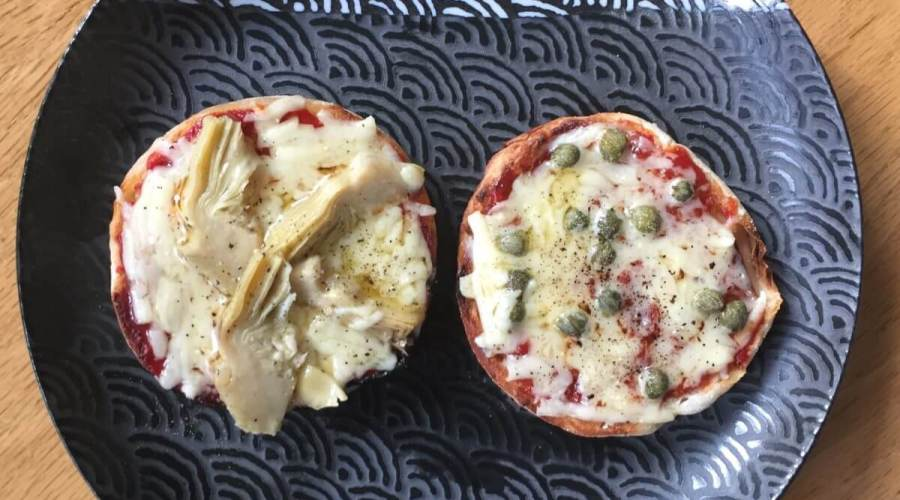 Quick Mini Pizza